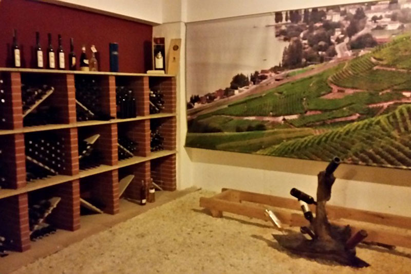 Image of the wine collection