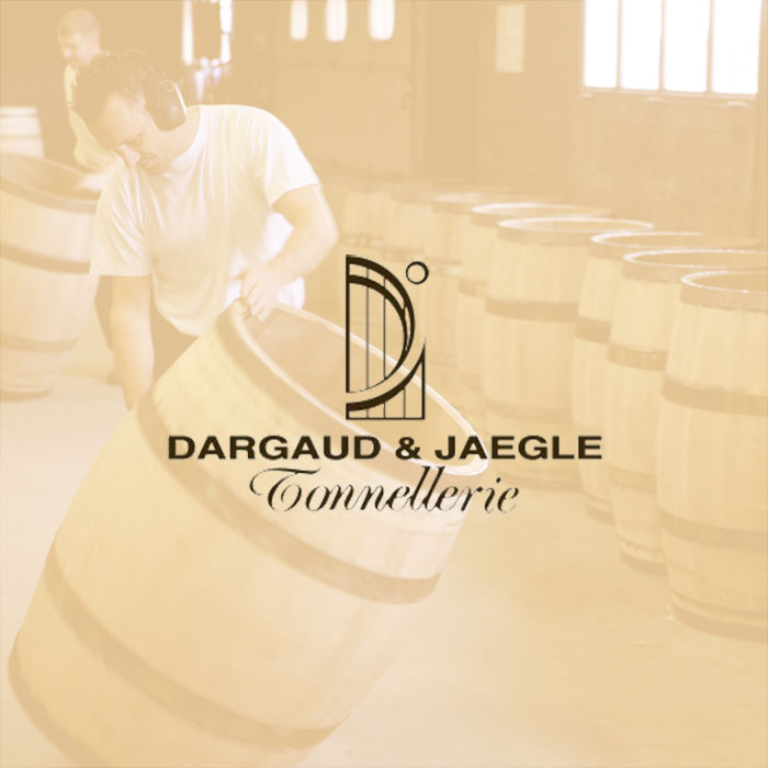 An image of oak barrels by Dargaud & Jaegle